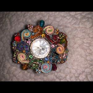 Unique colorful Quartz watch